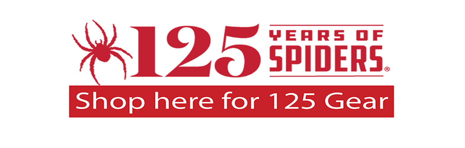 Shop 125 years spider