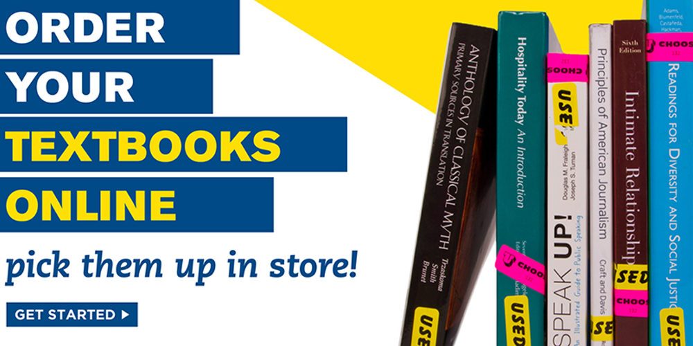 Order Your Textbooks Online