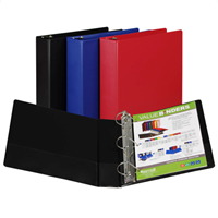 "Samsill 1/2"" - 3"" Three Ring Binder"