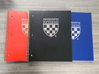 University of Richmond Crest 3 Subject with Lined Paper