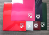 Laminated University of Richmond with Mini Crest Two Pocket Folder