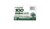 White 4 x 6 Inch Index Cards