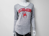 Concepts Sport Long Sleeve Soft Tee With Richmond Mascot