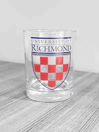 University Of Richmond Crest Glass
