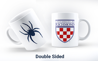 Double Sided Crest And Mascot Mug
