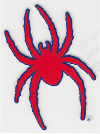 Mascot 4 1/2 Inch Outside Decals