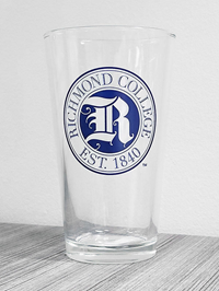 Richmond College Est 1840 Tall Glass
