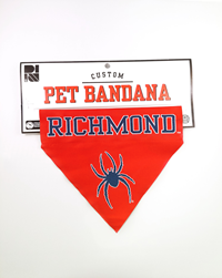 Pet Bandana Richmond Spiders Mascot