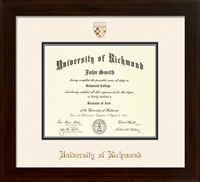For Undergrad/MBA Framer's Choice Diploma Frame