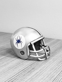 Football Helmet Card Holder