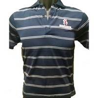 Antigua Youth Polo (Navy/White)