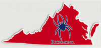 Virginia State with Mascot Outside Decal
