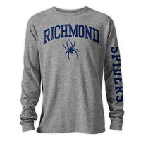 League Long Sleeve Tee 1830 Richmond Tri-Blend (Grey)