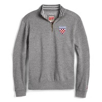 League Richmond Crew Quarter-Zip Crest Tri-Blend