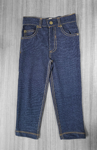 Soft Jean Pant With Mascot