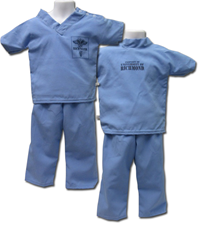 Toddler Scrub Set Uofr Scrub Top And Scrub Bottom