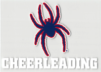 Mascot Cheerleading Outside Decal