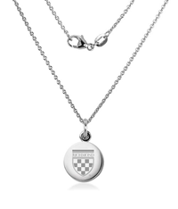 M La Hart Sterling Silver Necklace With Charm