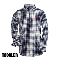 Toddler Button Down Oxford Mascot