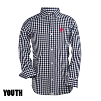 Youth Button Down Oxford Mascot