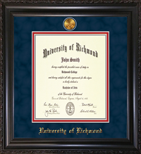 Law VINTAGE BLACK SCOOP DIPLOMA FRAME