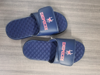 Islide Blue And Red Flipflop
