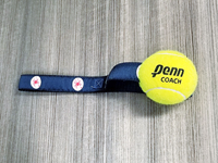 Tennis Ball Rope Dog Toy