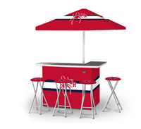 Victory Tailgate Pop Up Bar