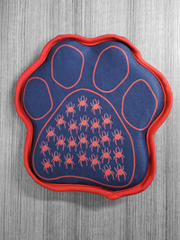 Dog Paw Toy With Two Squeakers