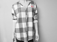 Gameday Button Down Ladies Plaid