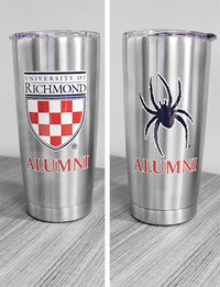 Endure Tumbler with Crest and Mascot