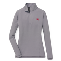 Peter Millar Ladies 1/4 Zip Stripes with Mascot UR
