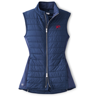 Peter Millar Ladies Full Zip Vest with Mascot UR