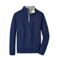 Peter Millar Youth 1/4 Zip with Mascot UR