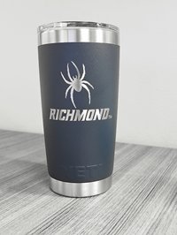 20 oz Yeti Tumbler with Mascot Richmond Navy