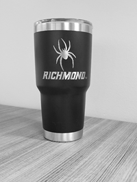 30 oz Yeti Tumbler with Mascot Richmond Black