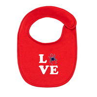 Creative Knitwear Infant Love Mascot Bib