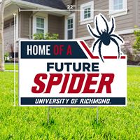 Lawn Sign Home Of A Mascot Future Spider