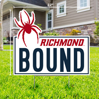 Lawn Sign Mascot Richmond Bound