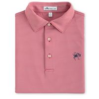 Peter Millar Polo with Mascot UR Red