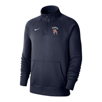 Nike 1/4 Zip Club with Richmond Mascot