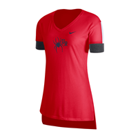 Nike Ladies Dri-Fit Tee with Mascot UR