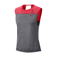 Nike Ladies Dri Fit Breathe Tank with Mascot Richmond
