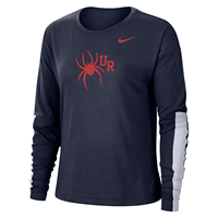Nike Ladies Long Sleeve Sideline Tee
