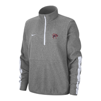 Nike 1/2 Zip Ladies Microfleece with Mascot UR