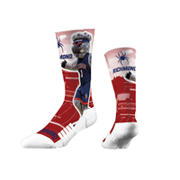 Strideline Mascot Crew Sock with Webster