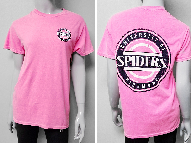 Blue 84 Pink University of Richmond Spiders with Back (SKU 113300661095)
