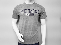 Blue 84 Tee with Richmond Mascot Dad