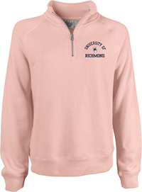 Blue 84 Ladies 1/4 Zip with University of Richmond with Mascot