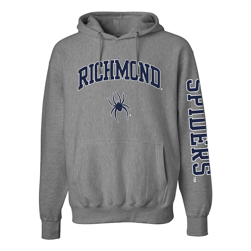 MV Sport Hoodie with Richmond Mascot with Spiders on Sleeve (SKU 113899891073)